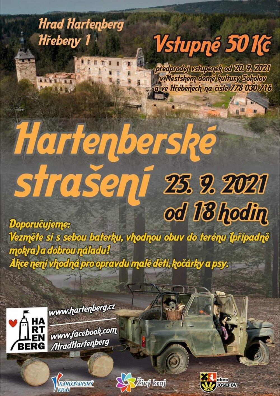 Hartenberské strašení 2021